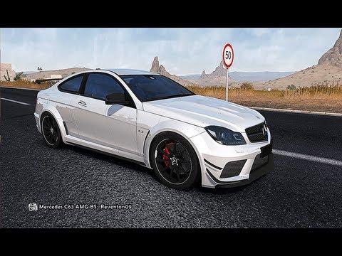 TDU 2 - Mercedes-Benz C63 AMG Black Series - Vehicle Mod by Reventon09