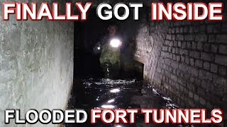 Download FINALLY GOT INSIDE! - The Flooded Level of the Abandoned Fort Mp3 and Videos