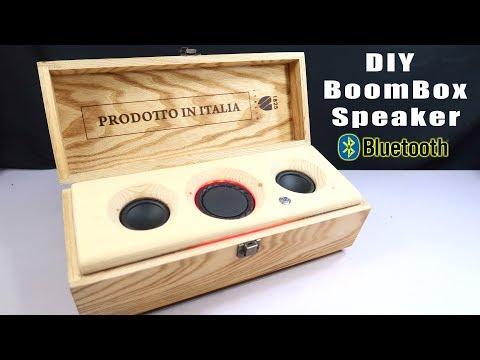 DIY Bluetooth Speaker Using Scrap Box