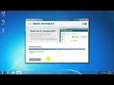 Tech Support: How to install ESET NOD32 Version 5 on top of Version 4