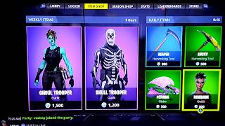 The changing of daily items in Fortnite Battle Royale!
