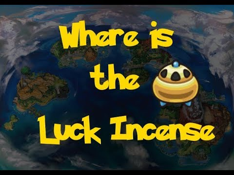 Where Is: The Luck Incense (Pokemon Ultra Sun And Moon)