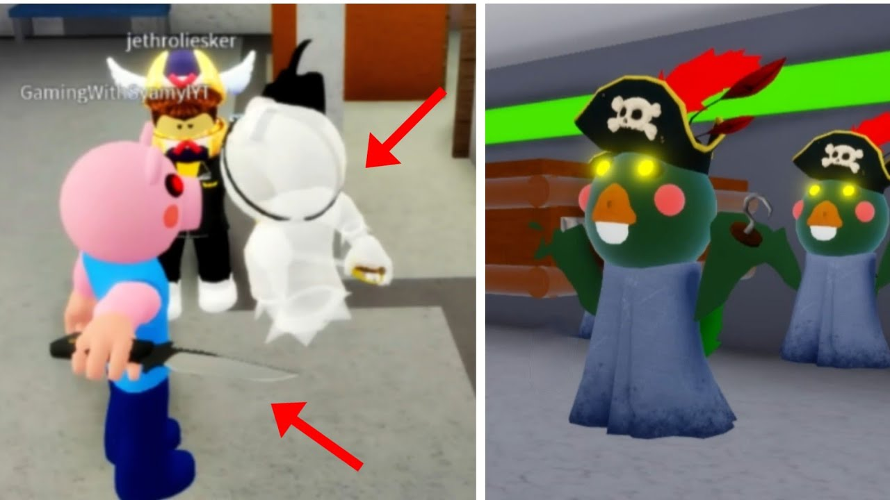 Piggy Roblox Coffin Dance Meme CompilationPart 50 Ghosty Invisibility Glitch