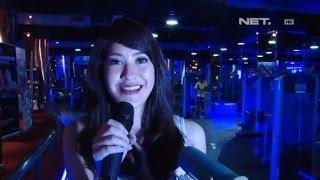 Elma Princess mrajib berolahraga Gym