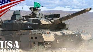 10式戦車の初アメリカ遠征 (自衛隊・米陸軍合同演習ライジング・サンダー2014) - Japanese Type 10 Tank First US visit thumbnail