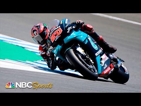 MotoGP: Fabio Quartararo clocks new all-time lap record in Jerez | Motorsports on NBC