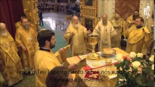 Consagração no Rito Bizantino - Igreja Ortodoxa