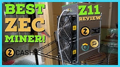 Best Zcash Miner - Bitmain Antminer Z11 Review | Setup | Profitability | Equihash Mining