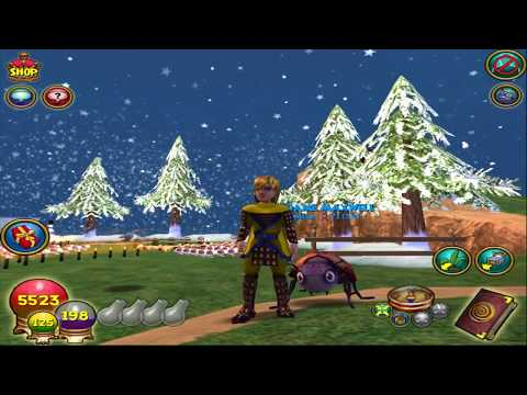 Wizard101 Spring Testrealm New Jewel Particle effects!