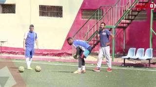 شاهد كيف يتعامل إبراهيم سعيد «المدرب» مع لاعبيه في التدريب (اتفرج)