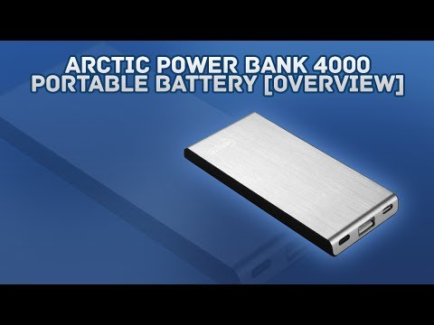 Arctic Power Bank 4000 mAh Portable Battery [Overview]