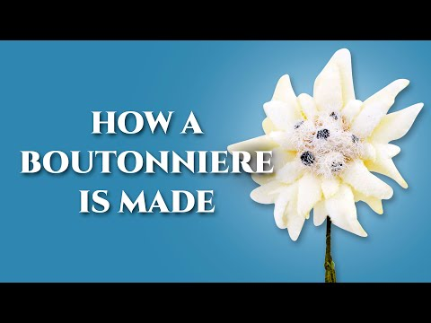 How To Make A Boutonniere Lapel Pin Flower - Fort Belvedere
