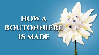 How To Make A Boutoฑniere Lapel Pin Flower - Fort Belvedere