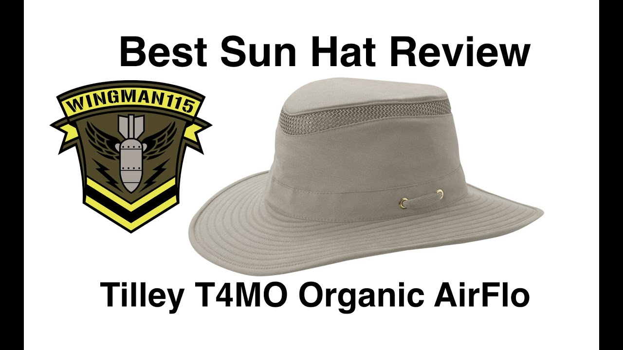 e4c660e27e6ea Best Sun Hat Review - Tilley T4MO Organic Airflo - YouTube