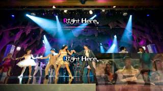 High School Musical 3 Right Here Right Now Karaoke (HD)