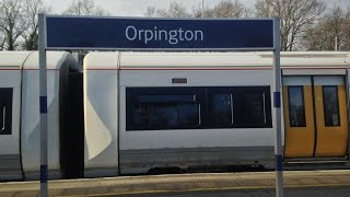 Full Journey on Southeastern from London Cannon Street to Orpington (via Grove Park)