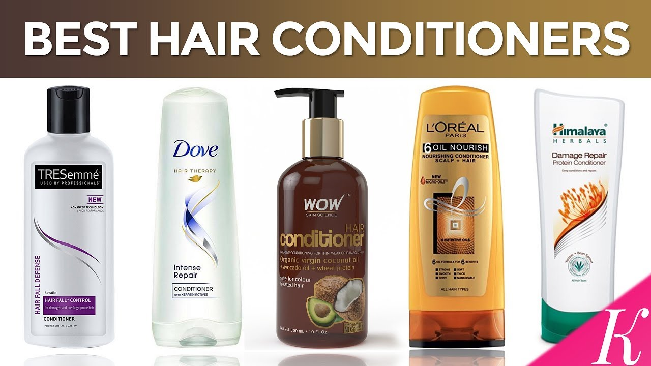 10 Best Hair Conditioners In India With Price Conditioners For