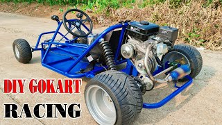 Upgrade DIY F1 3000w Go kart to Go Kart Racing 200c CVT Gearbox