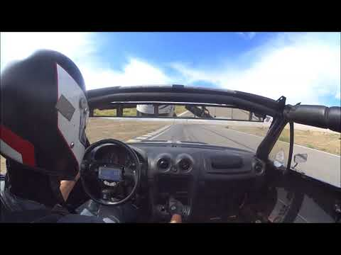 Grand Junction Motor Speedway in a 2000lbs Mazda Miata