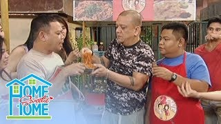 Home Sweetie Home: Obet and Pinong engage in the fire noodle challenge