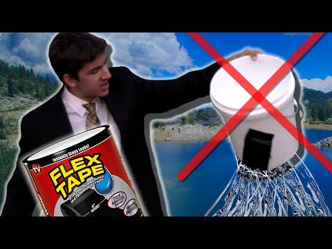 FLEX TAPE EXPOSED AND TESTED BY JONATHON HILLS