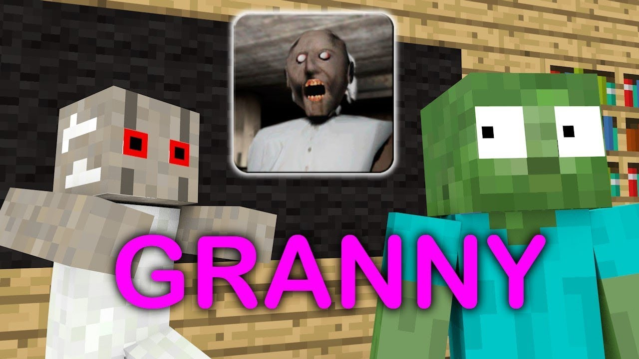 ✅ Monster School : GRANNY HORROR 1 - 2 - Minecraft Animation in Minecraft