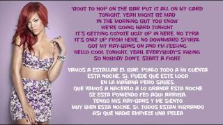 Rihanna - Cheers (Drink To That) Traducida Ingles/Español