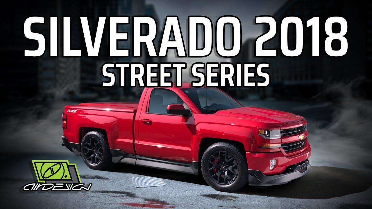 Installation video - Meet the new Silverado Street Series Ground Effects Kit - YouTube