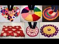 WOW!!.. Beautiful DiY Doormat at Home   Handmade - From Waste Clothes