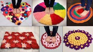 WOW!!.. Beautiful DiY Doormat at Home | Handmade - From Waste Clothes