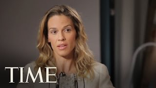 10 Questions for Hilary Swank