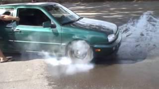 Turbo Volkswagen Gti Vr6 Burnout