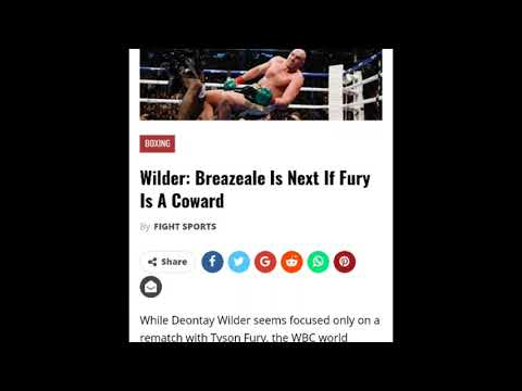 Deontay Wilder: Breazeale's Not Next Unless Fury's 'A Coward'
