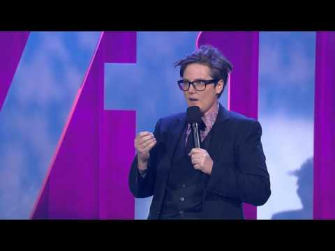 Hannah Gadsby on bikini models