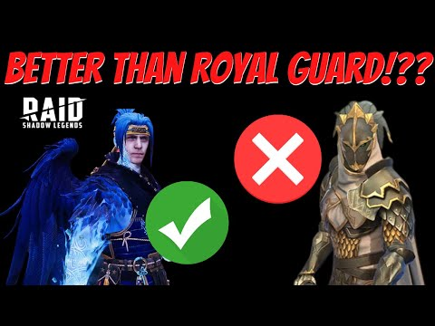 Is Ninja the NEW Royal Guard!?!  Raid: Shadow Legends
