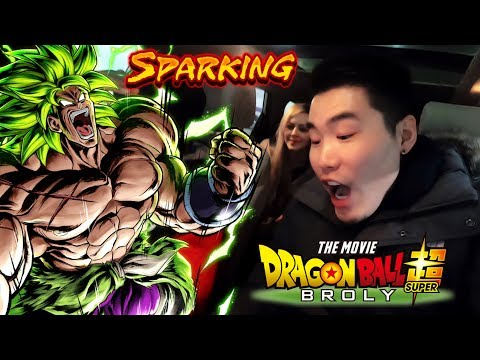 WE DID BROLY SUMMONS AT THE BROLY MOVIE PREMIERE AND...