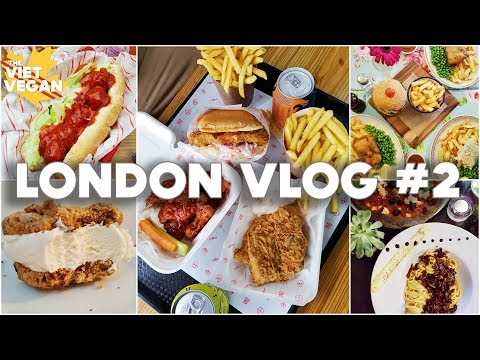 🇬🇧 London Vlog #2 🇬🇧 EPIC Vegan Food, Doctor Who Museum & SHOPPING!
