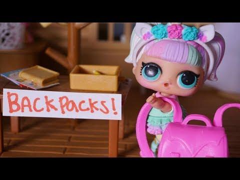 LOL SURPRISE DOLLS Go School Shopping For School Supplies!