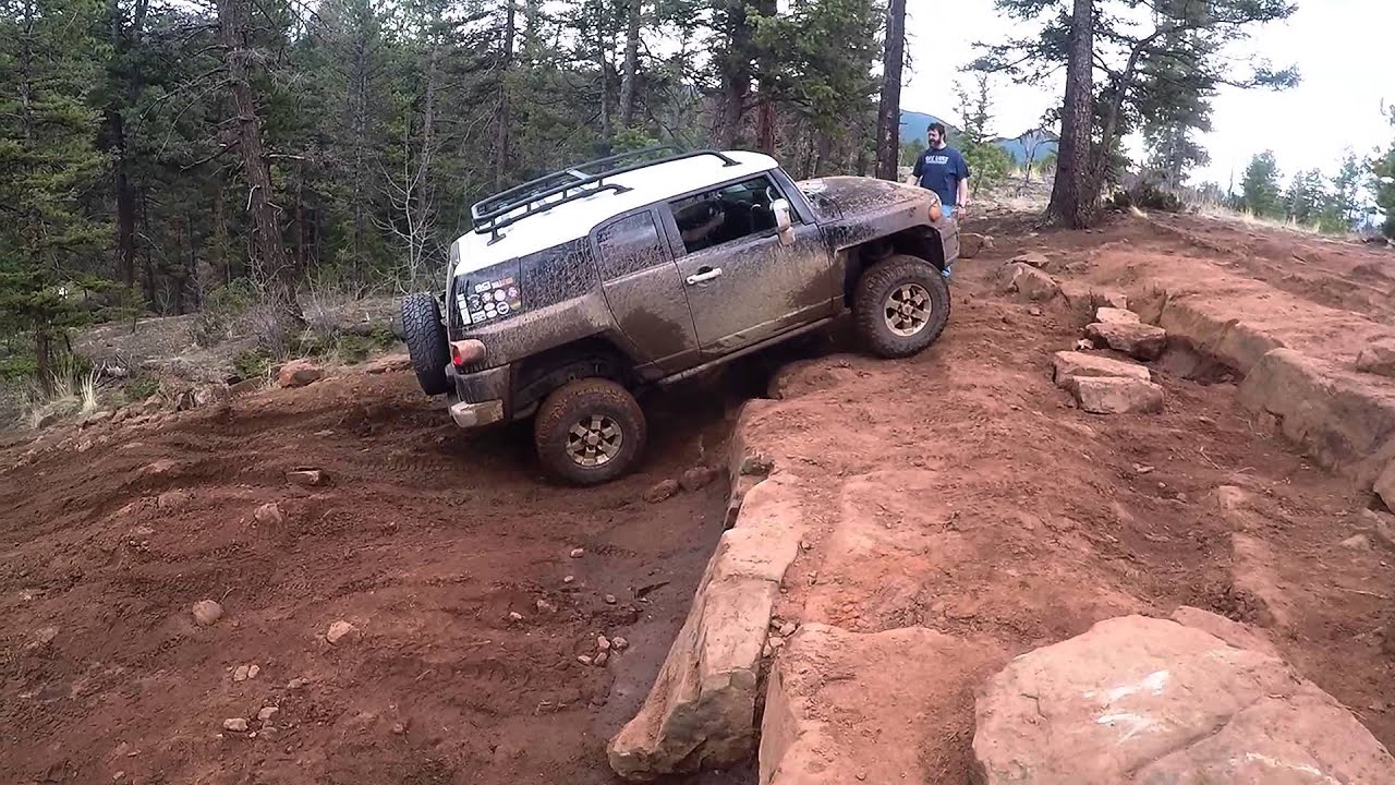 Fj Cruiser 2016 >> FJ CRUISER OFF ROAD COLORADO - YouTube