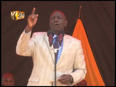DP Ruto urges Bungoma residents to cooperate with security agencies to combat insecurity