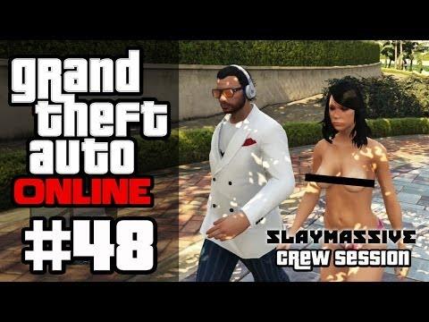 GTA ONLINE #48 - Playboy-Mansion & Tennis-Match [HD+]   Let's Play GTA Online