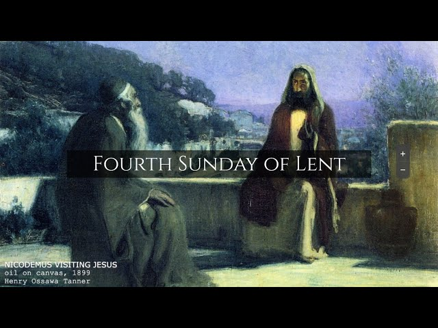 Fourth Sunday of Lent 12:30 pm Mass