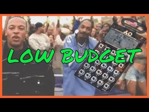 "Dr. Dre - ""Still D.R.E."" LOW BUDGET version / instrumental cover (beatmaking on PO-33 KO)"