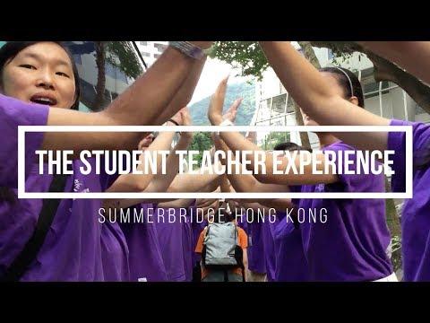 The Student Teacher Experience (Summerbridge Hong Kong)