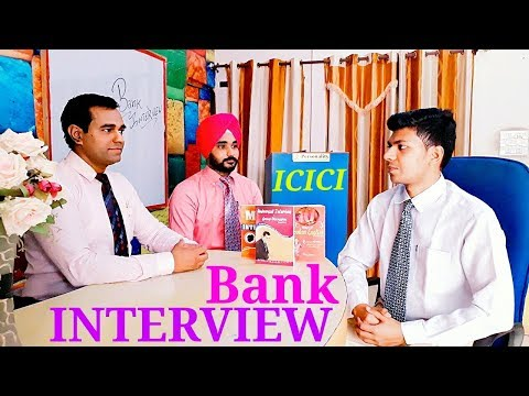 BANK Mock Interview : ICICI bank interview questions