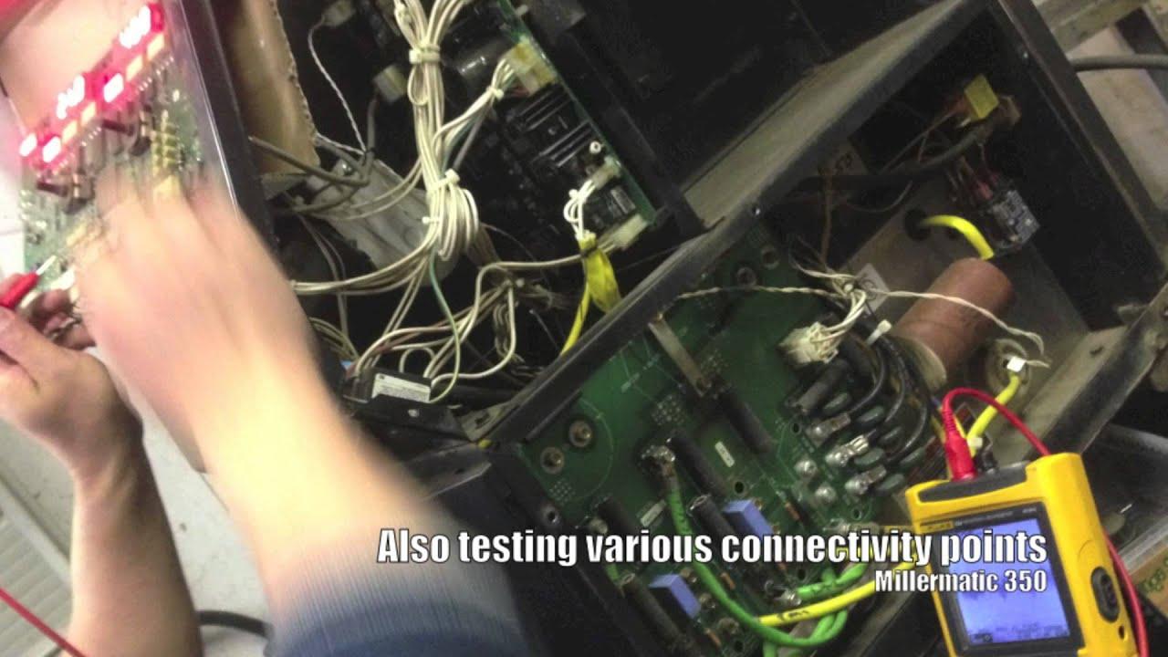 millermatic 350 is the circuit board working  [ 1280 x 720 Pixel ]