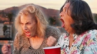 Grandmas Play Flip Cup For The First Time