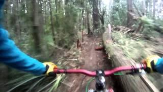 Pista Carrera de Downhill: Clandestina Invernal Round 2#, Cerro Caracol, Concepción