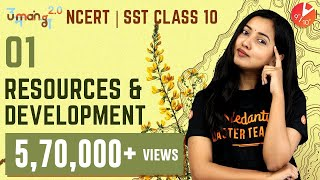 Resources and Development Class 10 Geography | CBSE NCERT | Social Science Umang 2020| NCERT Vedantu