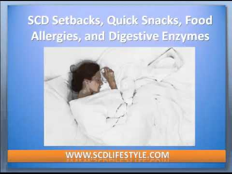 SCD Diet Setbacks, Quick Snacks, Food Allergies, and Digestive Enzymes  (Podcast 24)